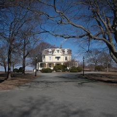 Eisenhouwer House in Newport, Rhode Island - USA